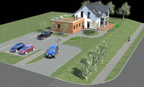 Rusza budowa prefabrykowanego domu modelowego