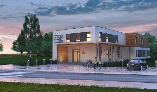 Pierwsza w Polsce szkoła w technologii drewnianego szkieletu