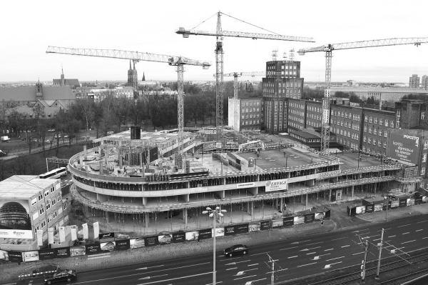Konstrukcja OVO Wrocław na półmetku