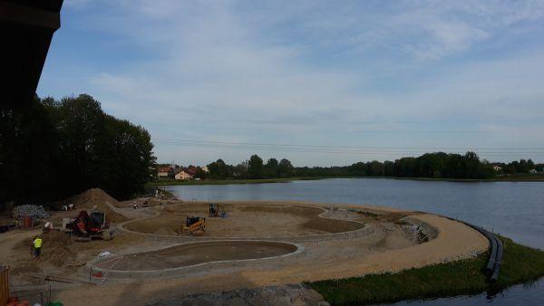 Powstaje największy w Polsce basen typu Biodesignpools